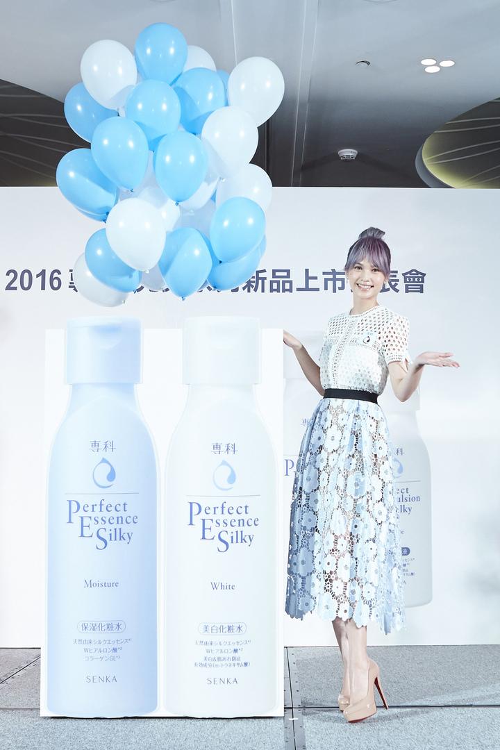 楊丞琳代言專科完美系列,挑戰素顏拍廣告沒在怕。圖/專科提供