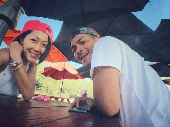 Gigi(林如琦)曝老公史丹利只要單獨出國都會寫卡片給她。圖/摘自臉書