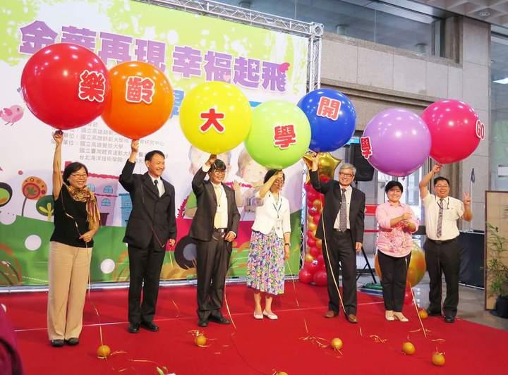 全台108所大學辦樂齡大學,提供55歲以上民眾圓大學夢。記者王彩鸝/攝影