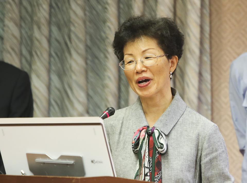 資料照片 陸委會主委張小月。記者楊萬雲/攝影