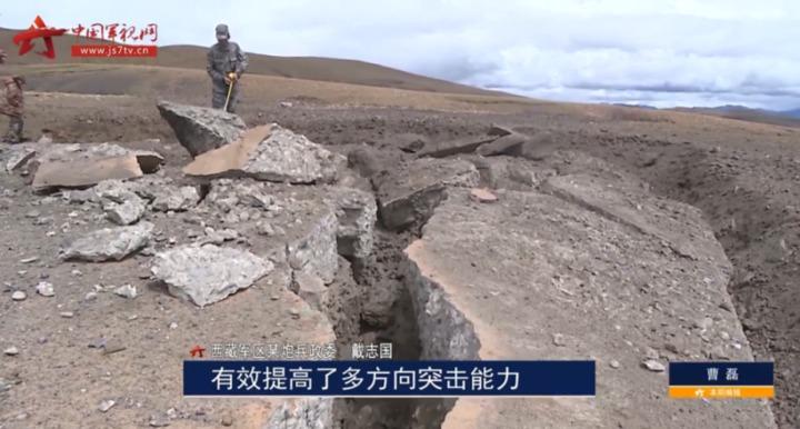 300mm火箭炮單發穿透2公尺混凝土掩體。(中國軍視網)
