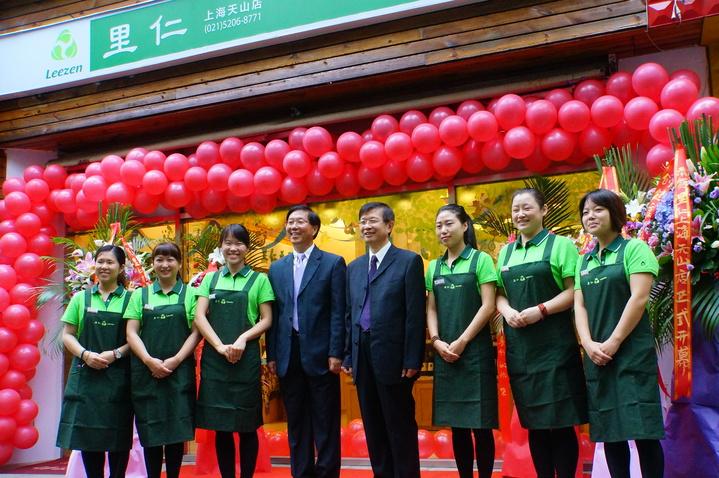 里仁在上海展店,在大陸跨出第一步。圖/里仁公司提供