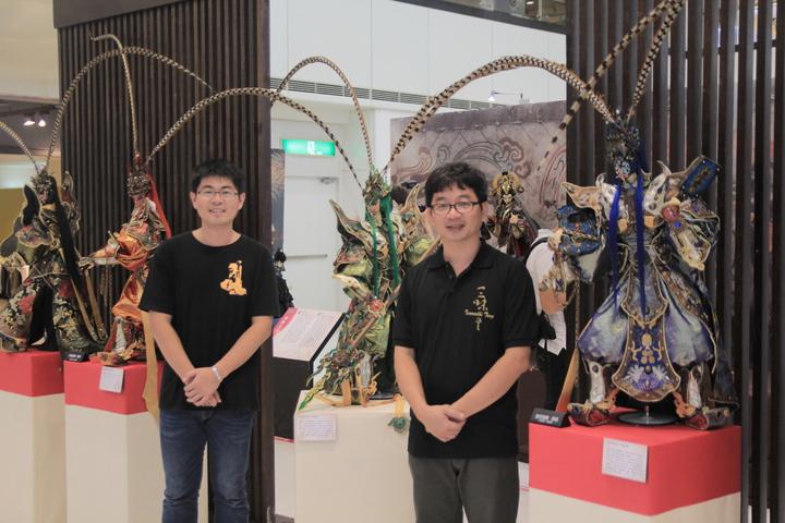 三昧堂官將首系列戲偶將在11月前往國外參展。記者鄭宏斌/攝影
