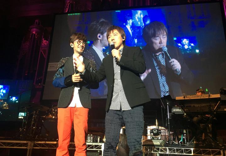 周傳雄「今宵酒醒何處」世界巡演,雪梨站邀張宇擔任嘉賓。圖/一起娛樂提供