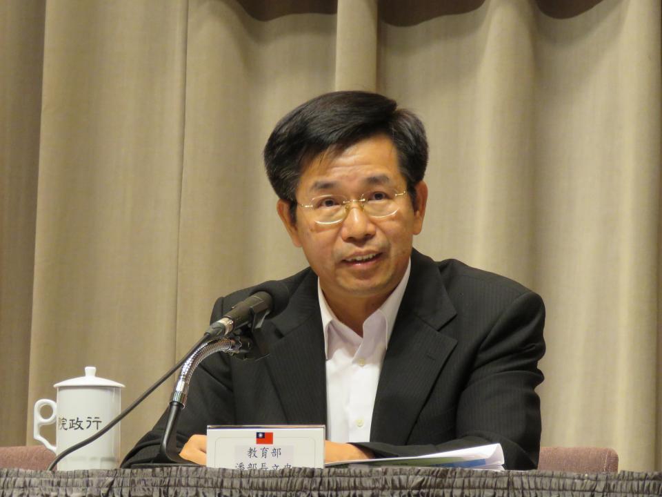 資料照片 教育部長潘文忠。記者雷光涵/攝影
