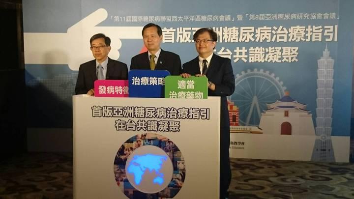 台灣將舉辦亞洲糖尿病研究協會會議與西太平洋區糖尿病會議。記者劉嘉韻/攝影