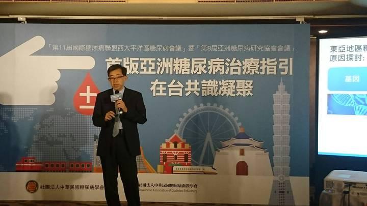 專家表示,台灣有188名糖尿病患,盛行率高於全球平均值。記者劉嘉韻/攝影