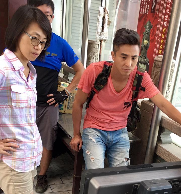 王少偉(左)是銘傳大傳系畢業,對幕後工作很有想法。圖/王少偉提供