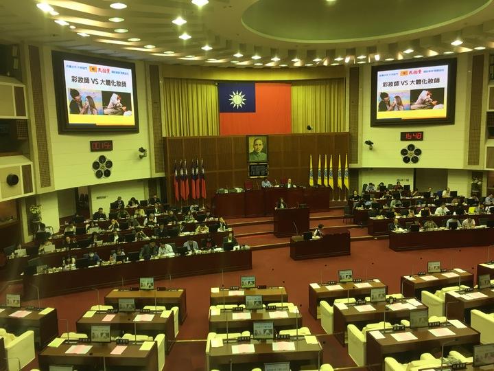 台北市議會今天下午進行教育部門質詢。記者張世杰/攝影
