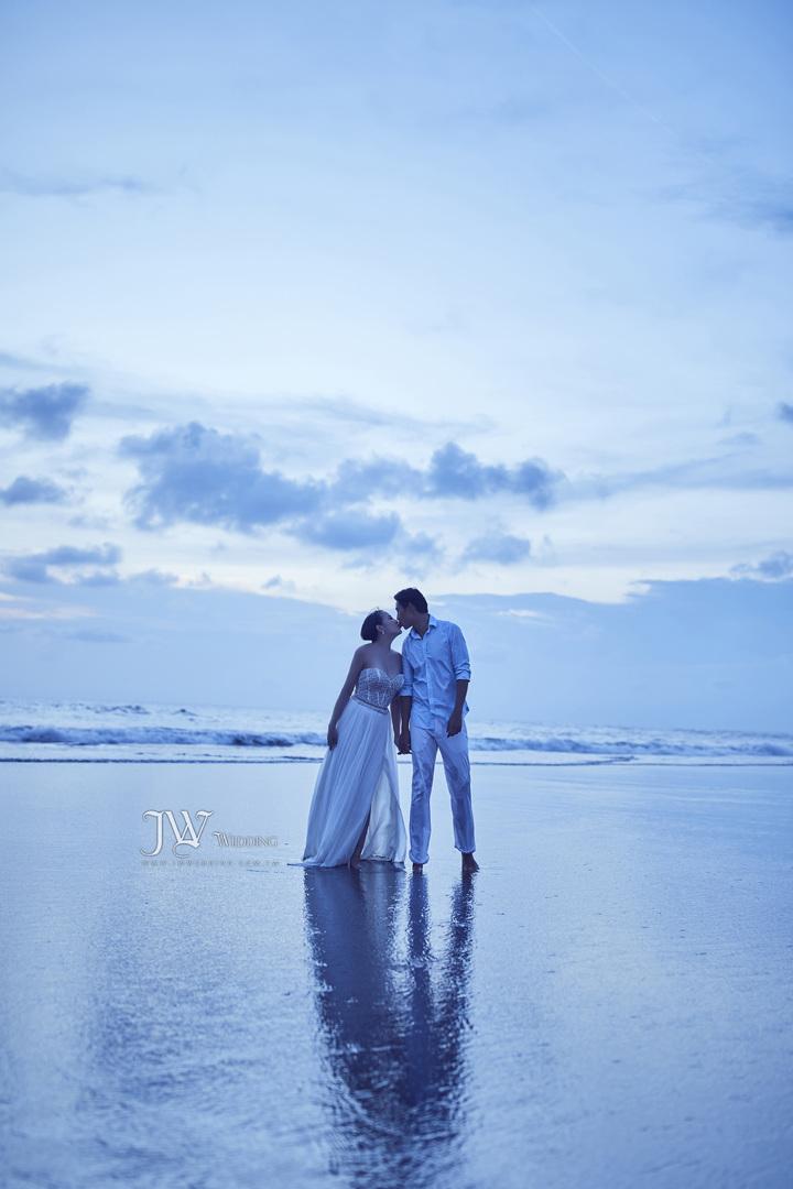 藍鈞天與愛妻婚紗照曝光 圖/寶麗來提供