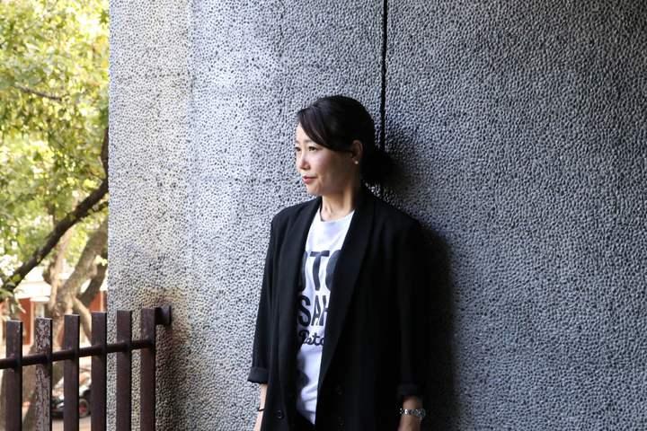 日本名導西川美和來台宣傳新片「漫長的藉口」。圖/天馬行空提供