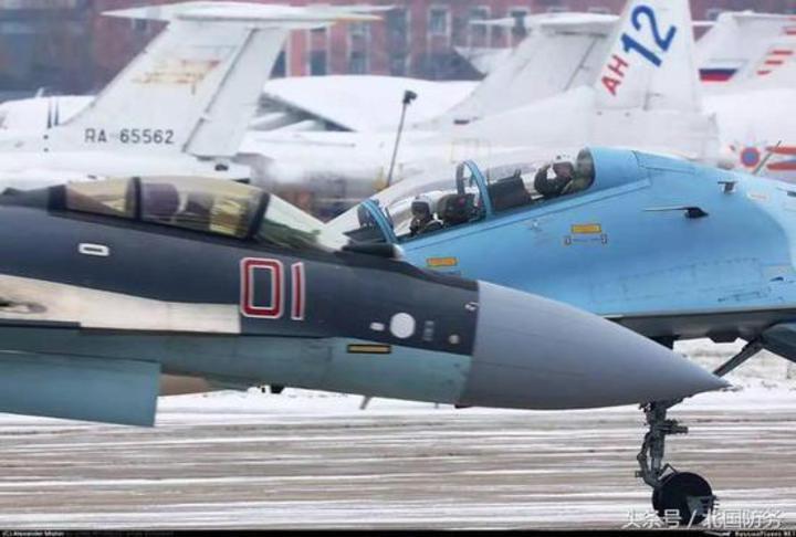 中國飛行員已在俄羅斯進行實機飛行訓練。(北國防務)