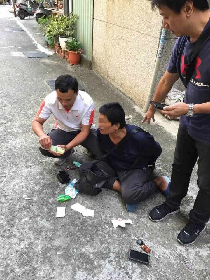 左營警分局查獲竊車集團,逮捕許姓竊嫌。圖/左營警分局提供