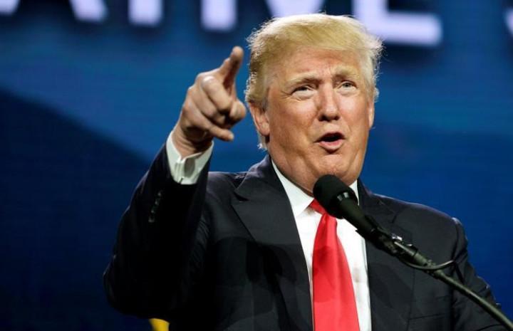 美國共和黨總統候選人川普。 路透資料照