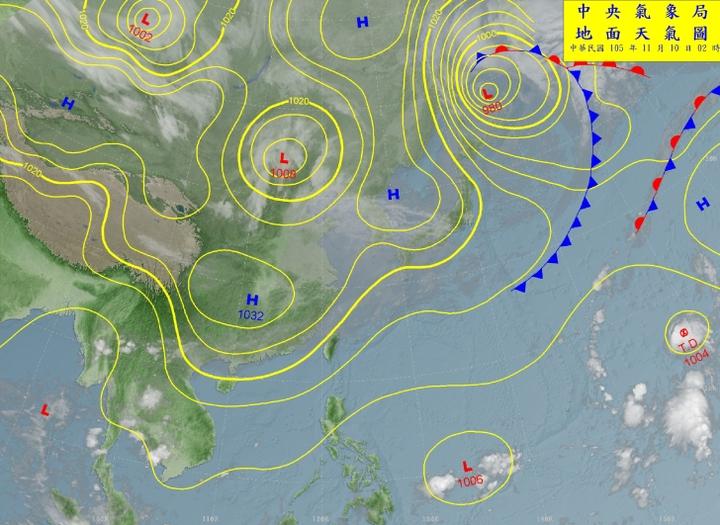 吳德榮說,預期將可能有颱風生成。圖/翻攝自氣象局網站