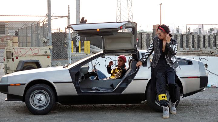 吳建豪新歌「BOOGIE不羈」MV在洛杉磯拍攝。圖/環球唱片提供