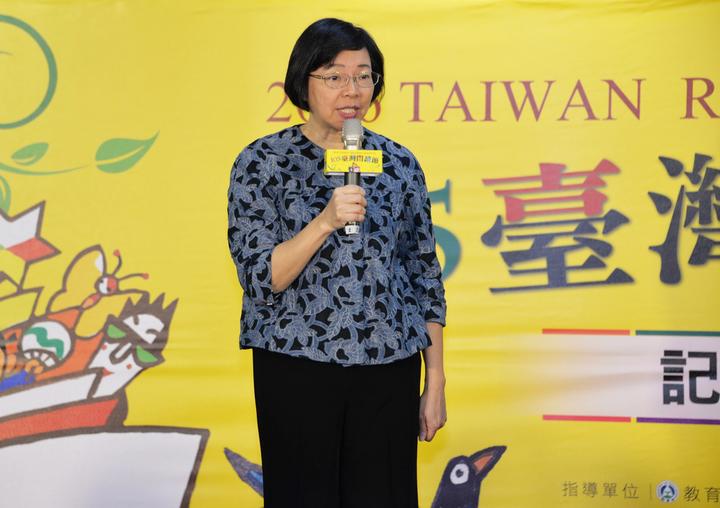 國家圖書館館長曾淑賢表示,台灣民眾閱讀風氣下滑,將影響學子的知識力、民眾的理解力、國家的競爭力。圖/國家圖書館提供
