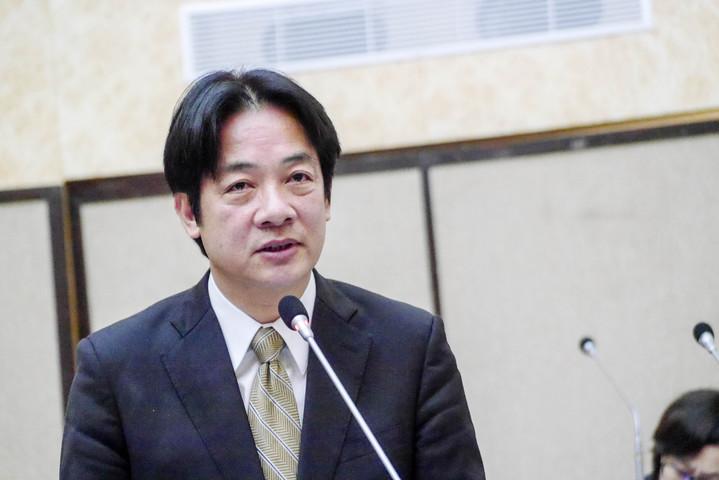 台南市長賴清德榮獲圖書館傑出人士貢獻獎。記者鄭維真/攝影