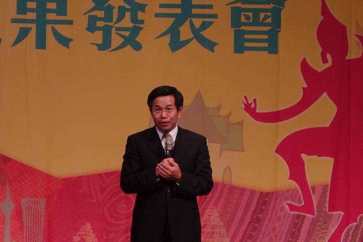 教育部長潘文忠。記者劉星君/攝影
