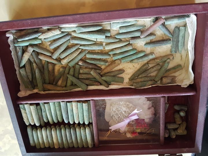 台南市北區三分子日軍射擊場遺址內,仍留有百年前的子彈。記者修瑞瑩/攝影