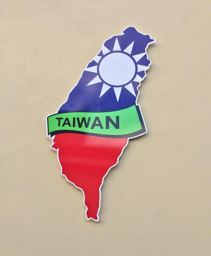 台灣駐南非辦事處,門口有台灣國旗號誌。記者吳雨潔/攝影