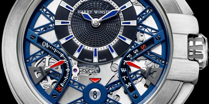 腕表表盤上的「Swiss Made(瑞士製造)」的字樣,常被消費者是認為高級品的代名詞。圖/Harry Winston提供