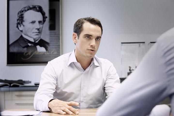 亨利慕時品牌執行長Edouard Meylan曾表示,瑞士製造已淪為低階品牌搏身價的護身符。圖/H. Moser & Cie.提供