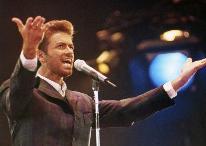 留下許多傳奇歌曲的喬治麥可,在12月25日安詳離世,享年53歲。圖/美聯社