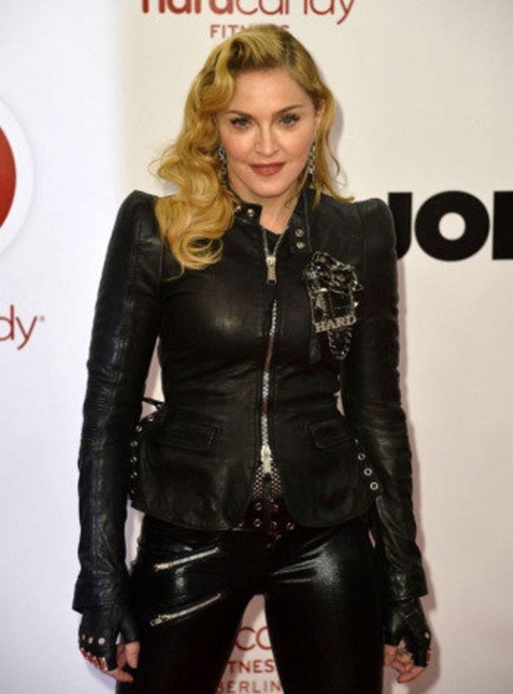 瑪丹娜也為痛失好友喬治麥可而難過。圖/法新社資料照