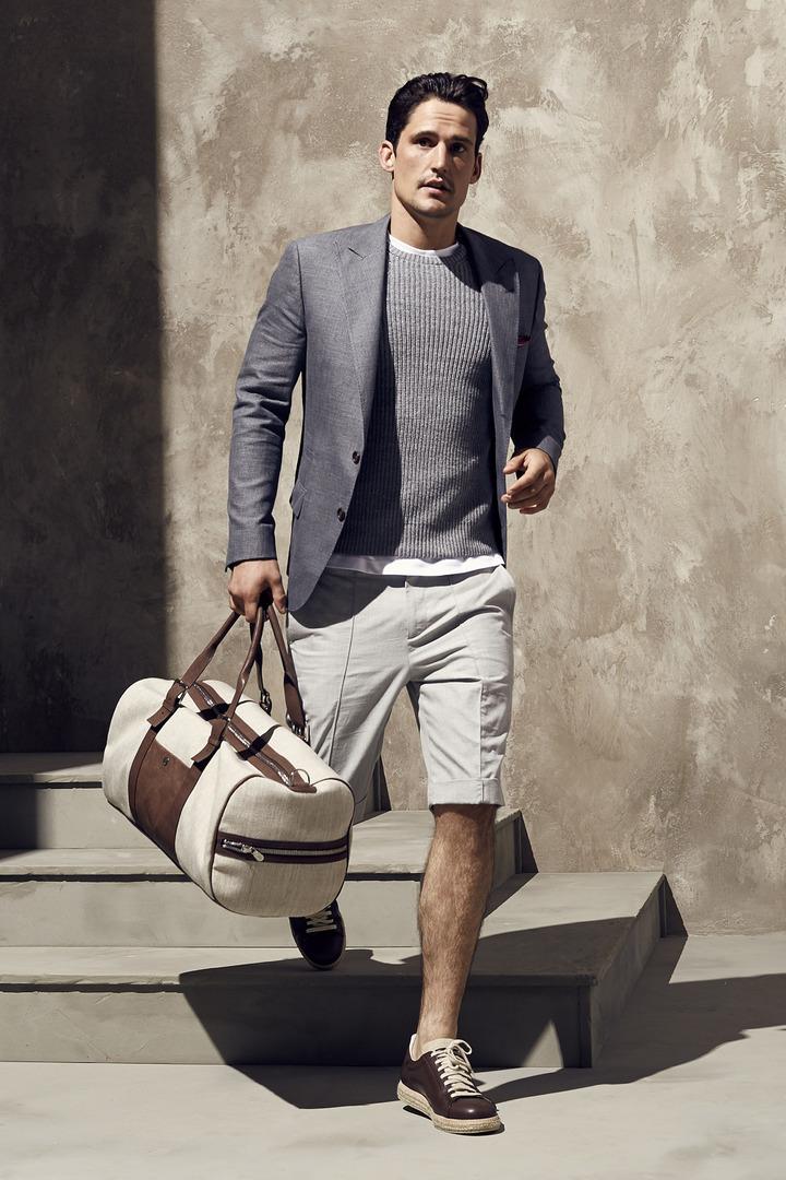 旅行風格是男裝不變的主題之一。圖/BRUNELLO CUCINELLI提供