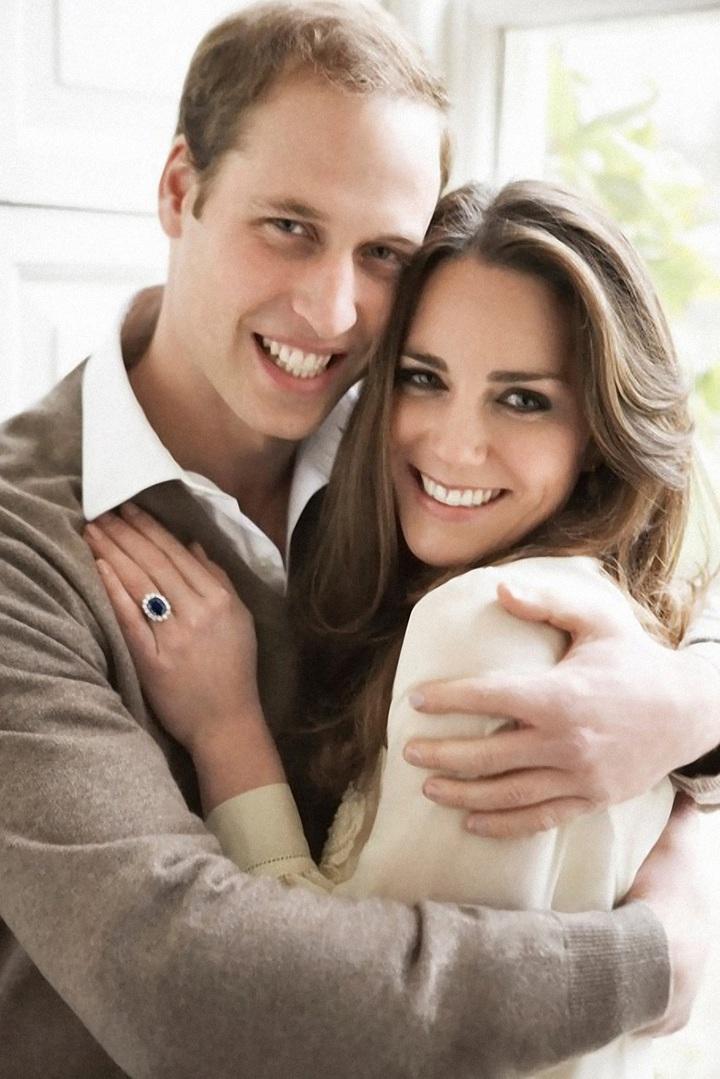 威廉王子、劍橋公爵夫人凱瑟琳展現品牌針織品的溫暖輕柔。圖/BRUNELLO CUCINELLI提供