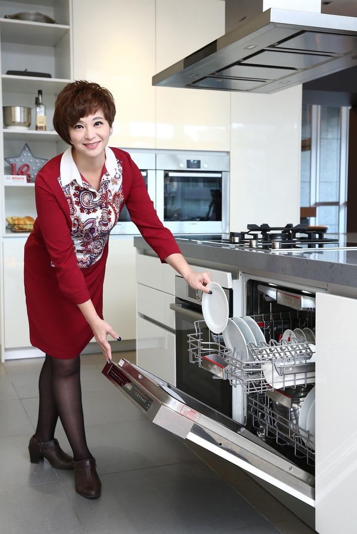博世家電Housewife Shower洗碗機體驗活動開跑。(圖:博世家電提供)