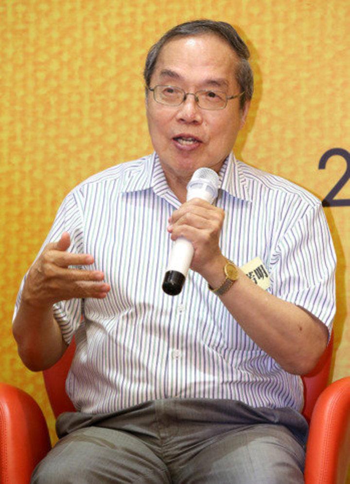 作家陳芳明。本報資料照