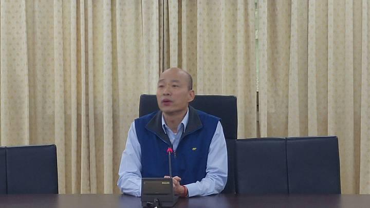 北農總經理韓國瑜向董事會請辭。記者莊琇閔 /攝影