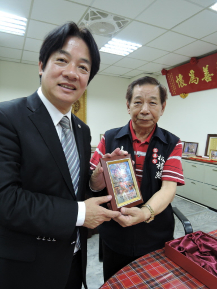 台南市長賴清德去年十月在新北市的感恩之旅,被解讀是為新北市長選舉試水溫。記者陳珮琦/攝影