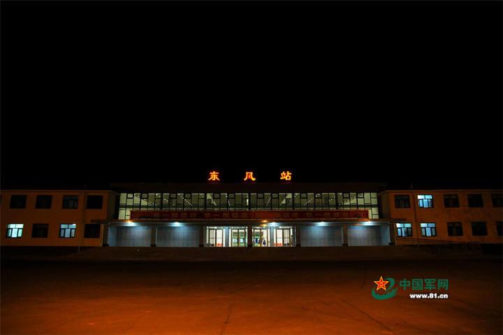 酒泉衛星發射中心又稱「東風航天城」。(中國軍網)