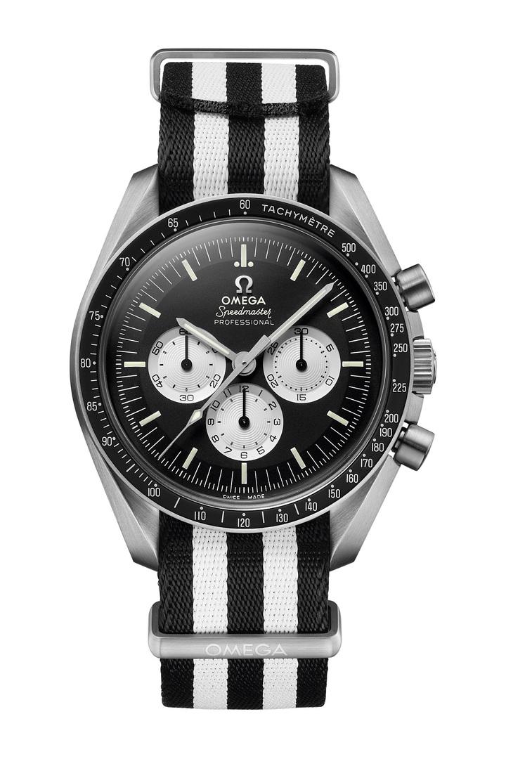 歐米茄超霸「SPEEDY TUESDAY」腕表,限量2,012只,19萬800元。圖/OMEGA提供