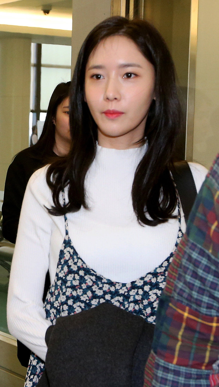 潤娥穿韓國平價服飾H:CONNECT飛抵台灣。記者陳嘉寧/攝影