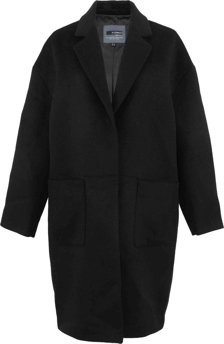 韓國平價服飾H:CONNECT西裝毛呢長大衣 ,2140元。圖/H:CONNECT提供