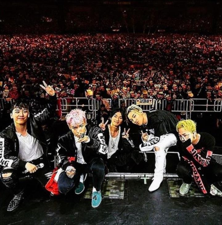 BIGBANG在去年底密集地進行出道10周年海外巡迴演唱會。圖/摘自GD IG