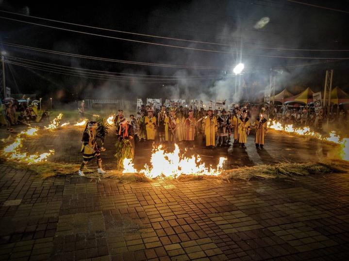 撒奇萊雅世居奇萊平原,現有人數僅約869人,圖為傳統火神祭。圖/台灣撒奇萊雅族協會提供