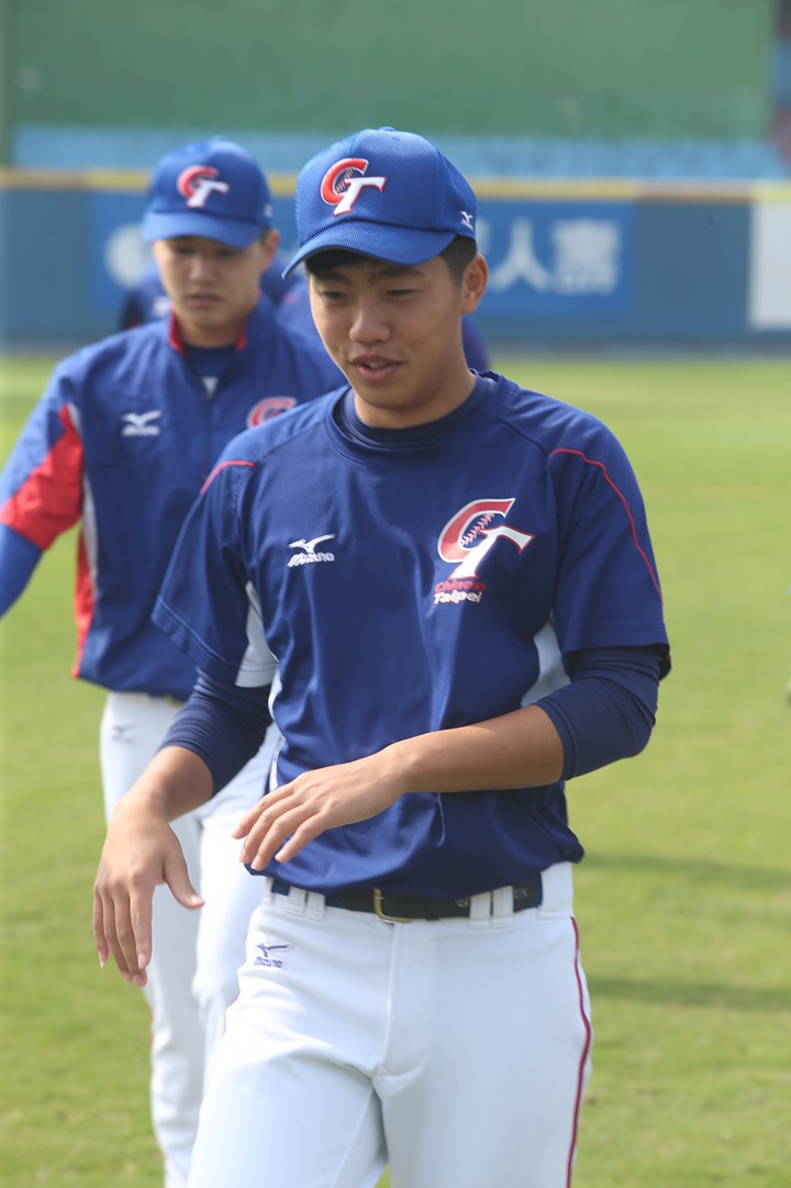 業餘球員呂彥青近年多次入選中華隊。記者黃仲裕/攝影