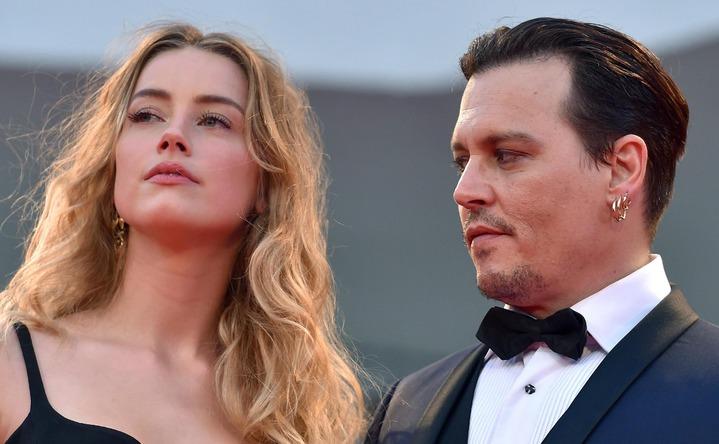強尼戴普與安珀赫德的離婚歹戲終於落幕。圖/歐新社資料照片