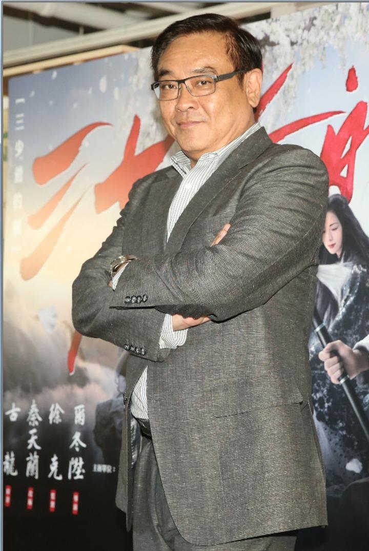 爾冬陞曾為自己執導的「三少爺的劍3D」來台造勢。記者王騰毅/攝影