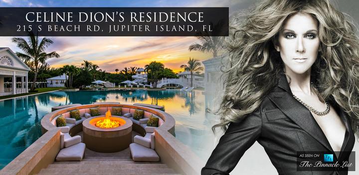 加拿大天后歌手席琳狄翁以近原來半價求售位在美國佛羅里達州朱庇特島的房產。(網路圖片)