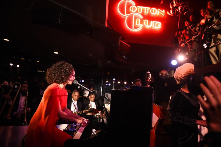 艾莉西亞凱斯(Alicia Keys)現場演唱。圖/CLUB DESIGNER提供