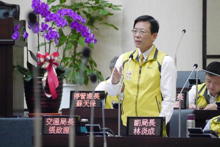 交通局長張政源接任台南市副市長。本報資料照片