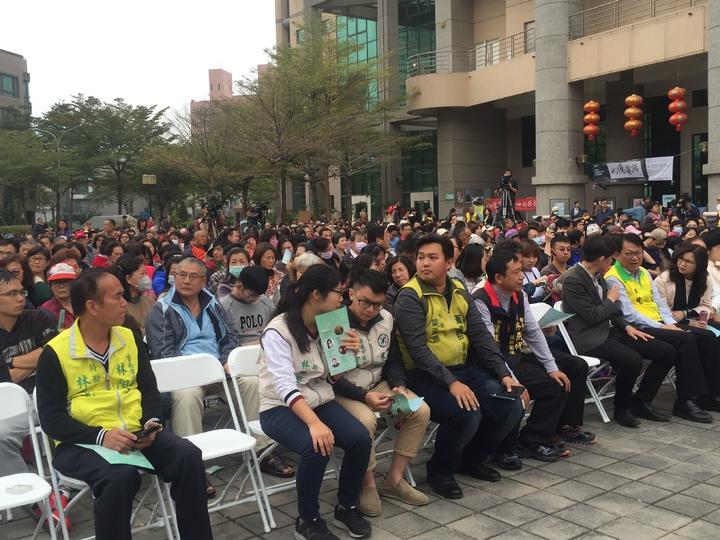 台南市政府在0206台南大地震屆滿周年前夕,舉辦迎向新生音樂會。記者吳政修/攝影