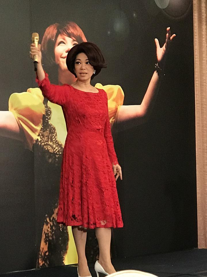 蔡琴宣布將舉辦新巡演。記者陳于嬙/攝影