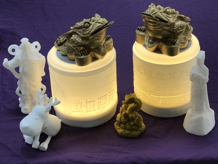 3D列印可以製作各種大小形狀產品。記者周宗禎/攝影